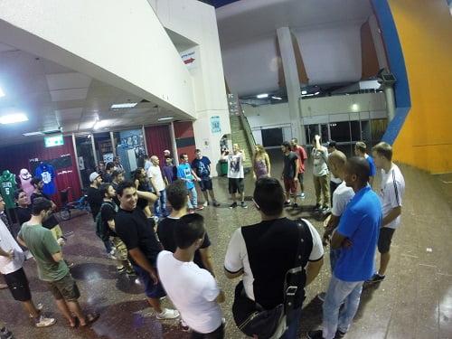 סיקור מיוחד של מעגל ההיפ-הופ שהתקיים בתחנה המרכזית בתל אביב