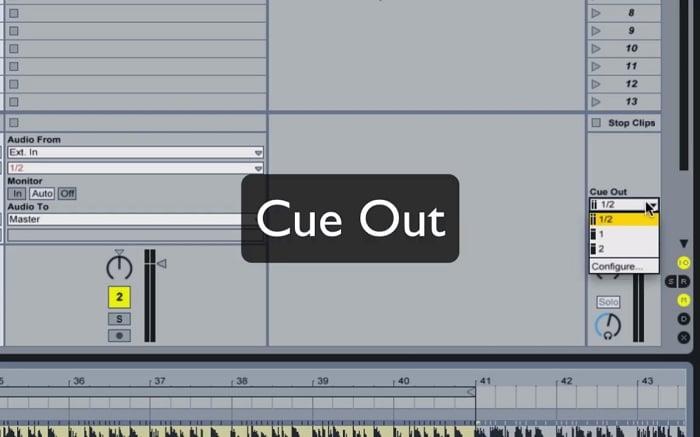 טיפים ל- Ableton Live יציאה לאוזניות (Cue Out) מאת המרצה יחזקאל רז