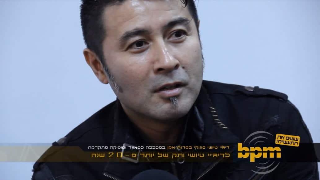 צפו בסדנת האמן עם Tsuyoshi Suzuki על הפקת טראנס
