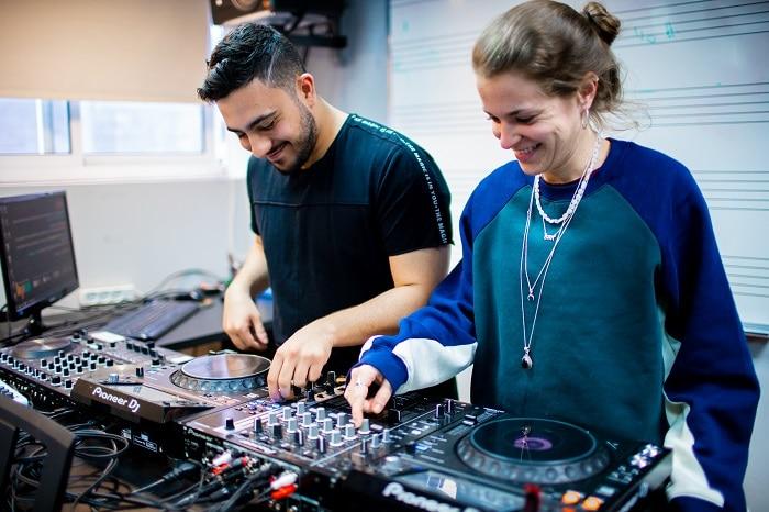 לימודי מוסיקה, לימודי DJ - מכללת BPM