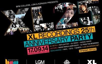 """BPM ,לב גרופ מדיה ורדיו """"הקצה"""" חוגגים 25 שנה ללייבל האגדי XL"""