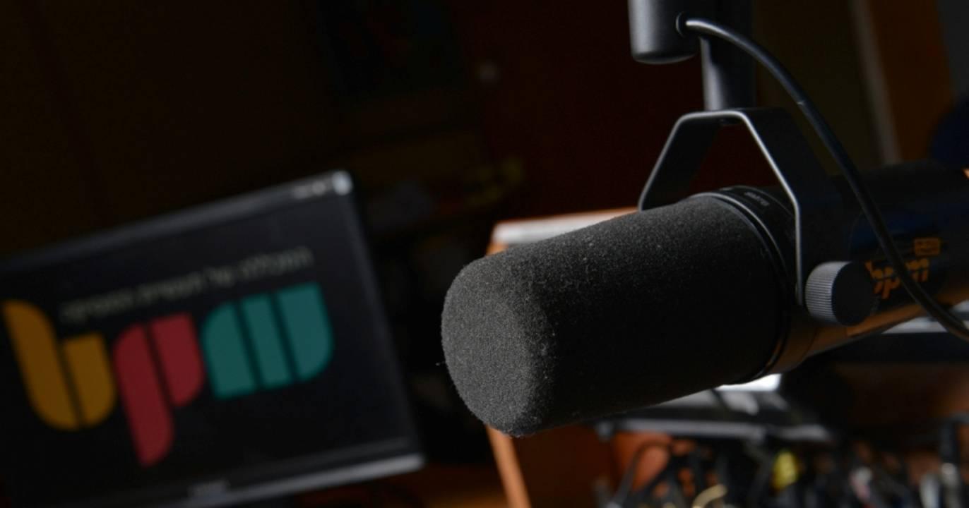 אולפן רדיו וקריינות