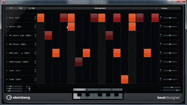 Step Sequencer בקיובייס