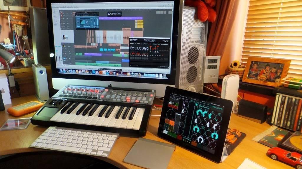 איך להשתמש בiPad ומוצרי Apple באולפן נייד