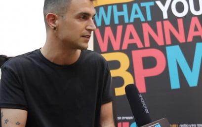 ראיון עם Fabio Florido מהלייבל MINUS