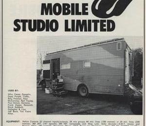 אולפנים מהחלומות – האולפן הנייד של ה-Rolling Stones