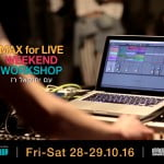 Weekend Workshop – MAX FOR LIVE