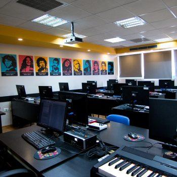 כיתת מולטימדיה - מכללת BPM