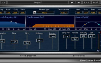 פלאג-אינים מומלצים: Waves RVerb