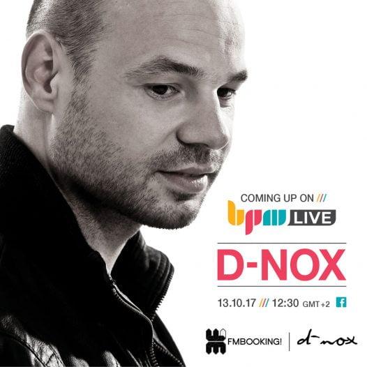 D-Nox בשידור לייב - מכללת BPM