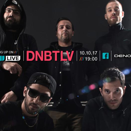 BPM LIVE DJ בשידור מיוחד עם DNBTLV בשיתוף DENON