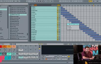 Ableton Live, מעבר מהיר בין סאמפלים