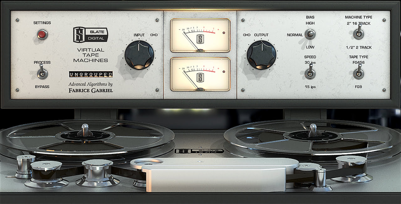 פלאג-אין מומלץ: Slate Digital Virtual Tape Machines