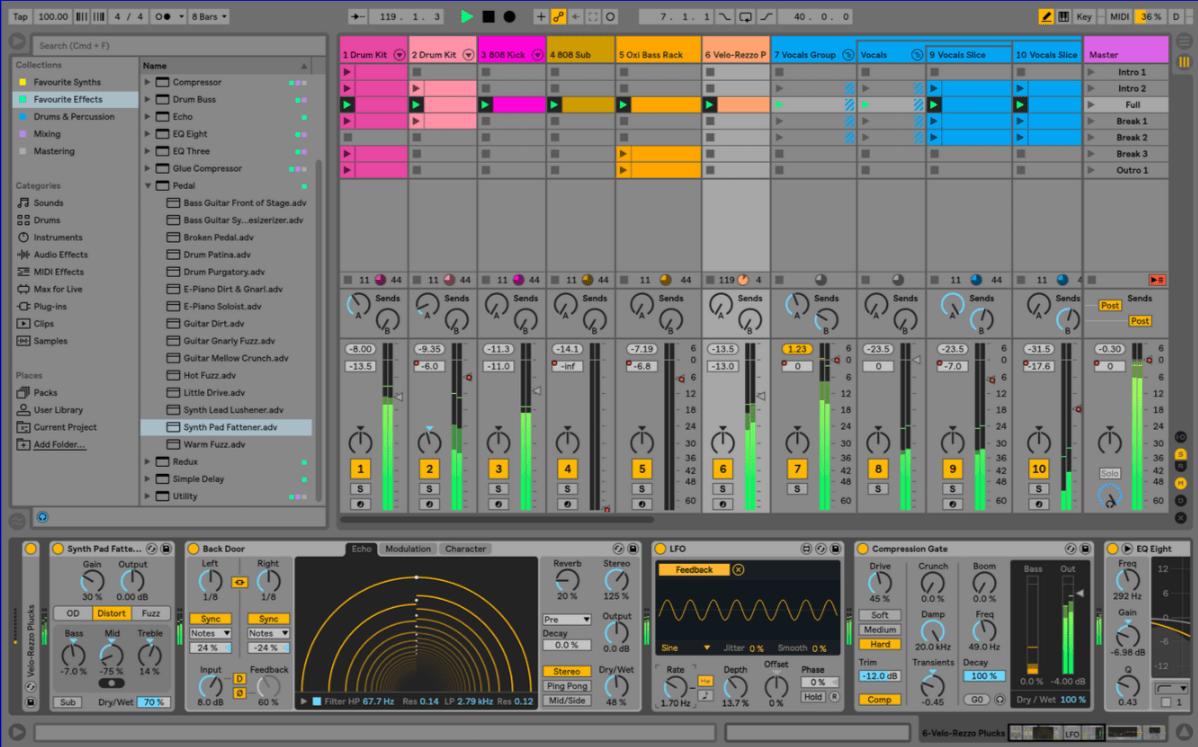 Ableton Live 10, סקירה ראשונה בעברית - מכללת BPM