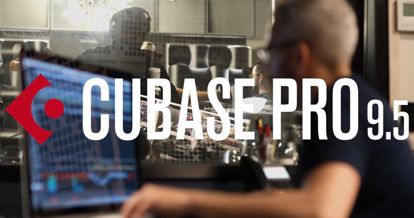 קיובייס 9.5 (Cubase Pro 9.5), סקירה ראשונה בעברית