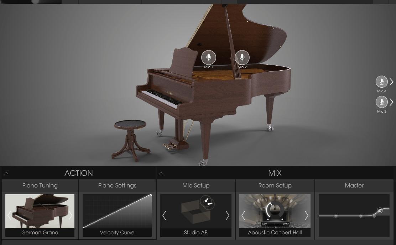 Arturia Piano V2 - מכללת BPM