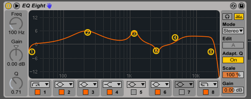 Ableton Live EQ Eight - מכללת BPM