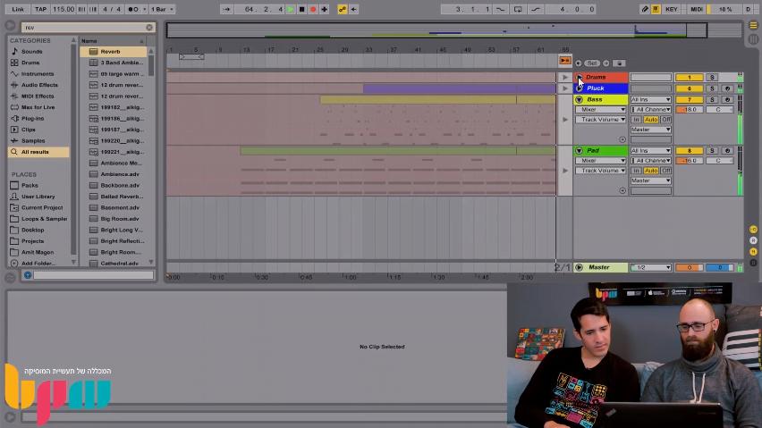 איך מקליטים MIDI ב-Ableton Live? סרטון הדרכה