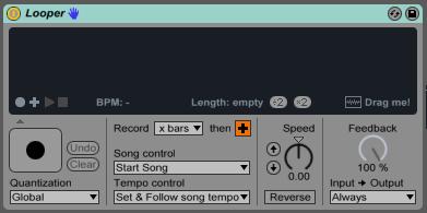 הלופר של אייבלטון לייב (Ableton Live Looper) - מכללת BPM