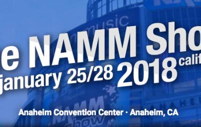 NAMM 2018, סקירת כלי נגינה וציוד אולפן
