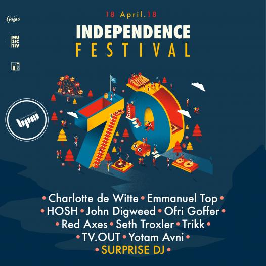 פסטיבל Independence, כרטיסים מוזלים לסטודנטים ובוגרים של BPM
