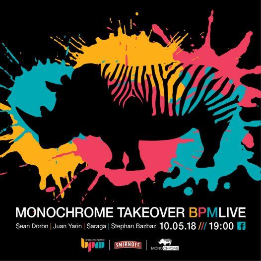 Monochrome TakeOver על הגג של תעשיית המוסיקה