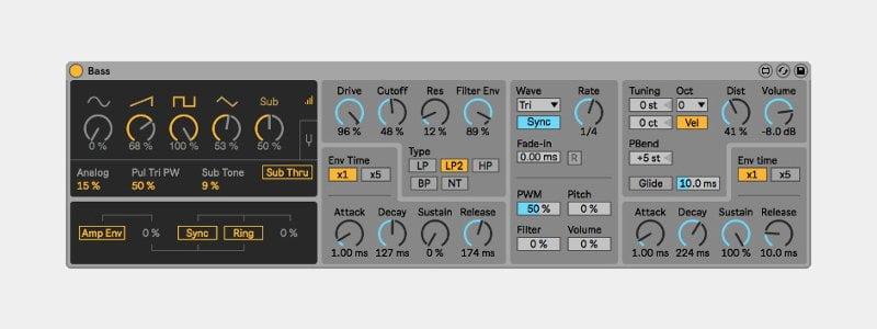 Bass, מתוך Ableton Live Creative Extensions - מכללת BPM