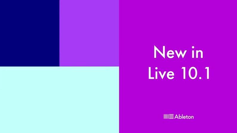 אייבלטון לייב (Ableton Live) גרסה 10.1, סקירה ראשונה בעברית