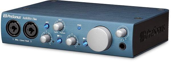 כרטיס קול מקצועי, PreSonus AudioBox iTwo - מכללת BPM