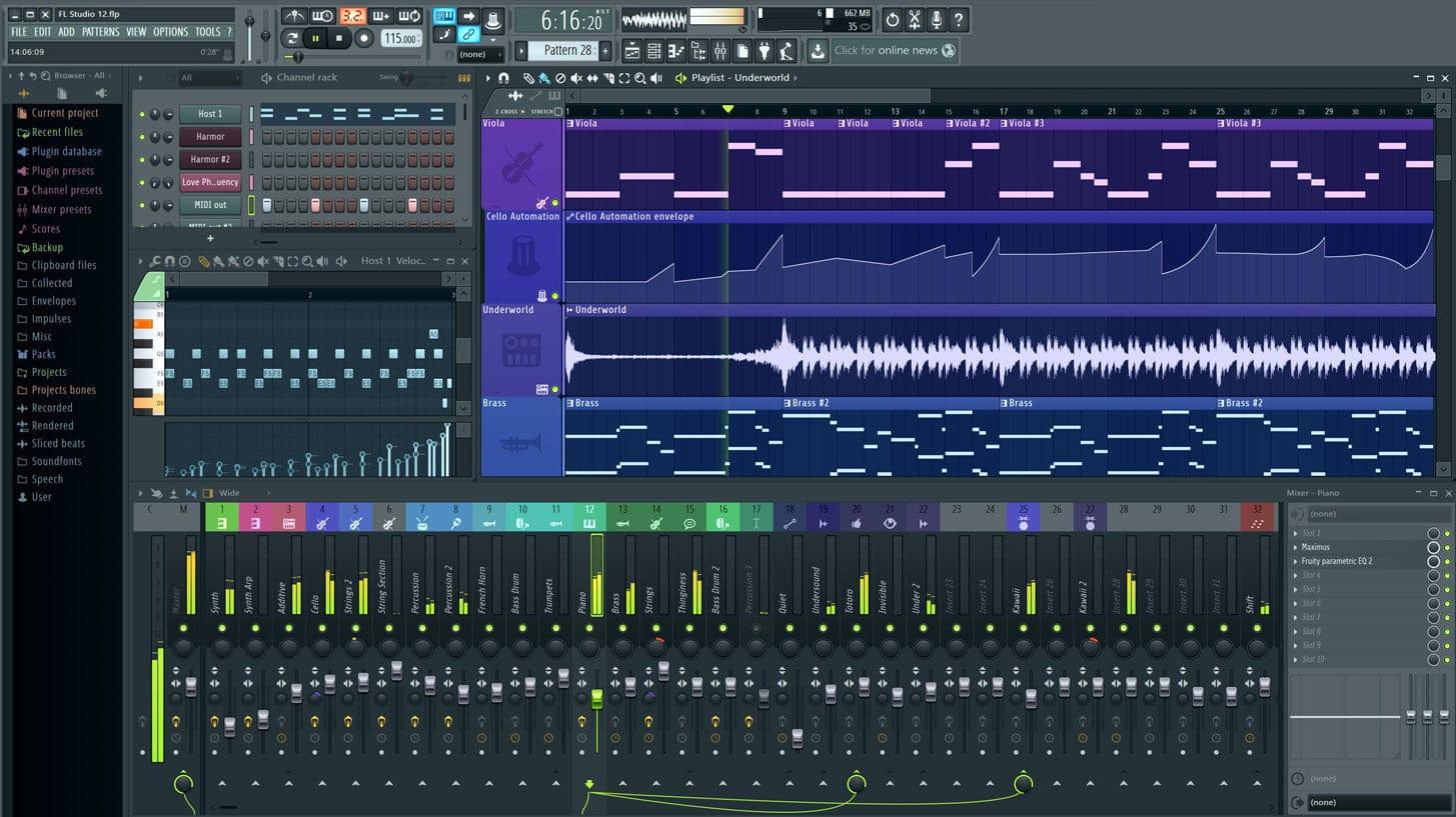 תוכנת FL Studio מבית Image-Line