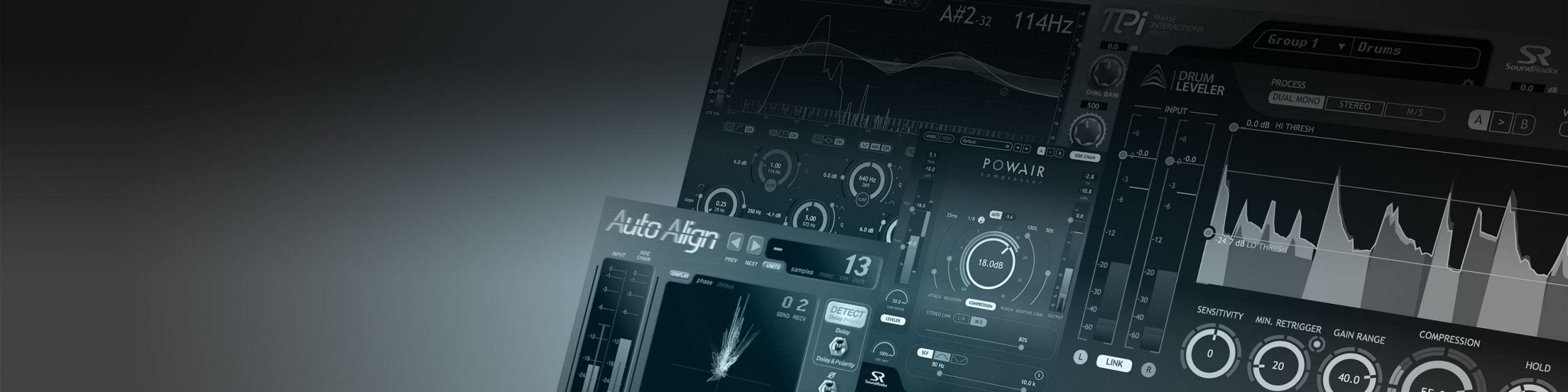 Sound Radix - הטבות על פלאגינים לסטודנטים של BPM