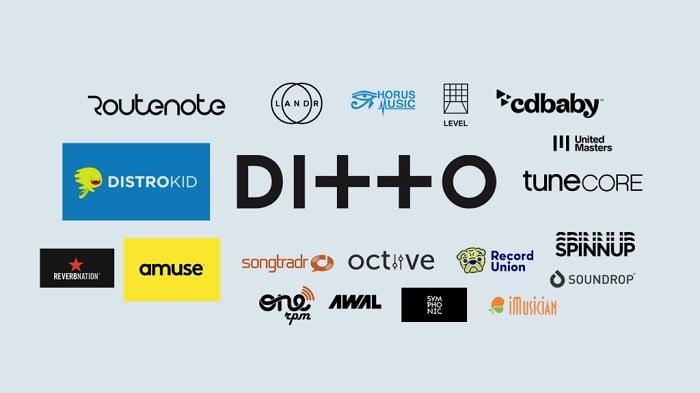 שירותי הפצה דיגיטליים למוזיקה