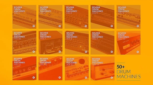 הטבות לתקופת הקורונה, Reverb Drum Machines Complete Collection