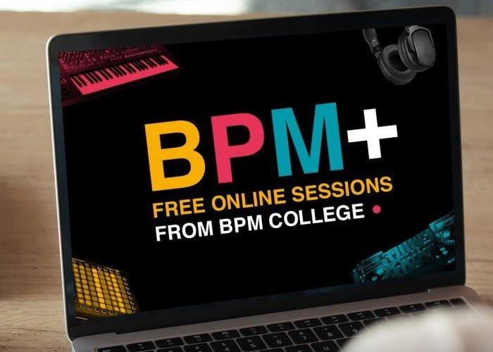 BPM+, סדרת סדנאות מוזיקה אונליין חינמיות