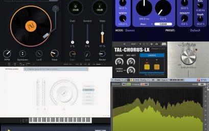 הפקת מוזיקה אלקטרונית, 8 פלאגינים חינמיים שחובה להכיר