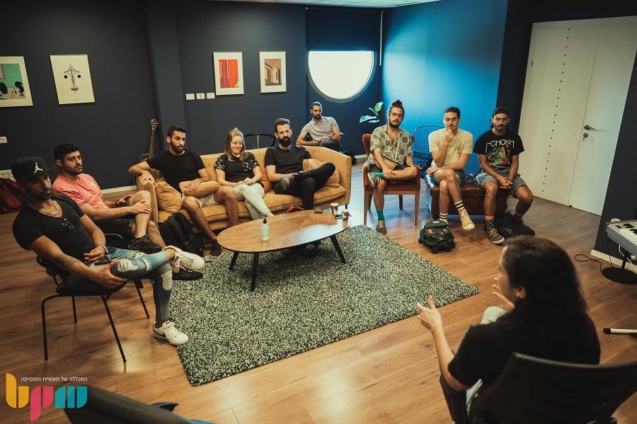 יוניברסל מיוזיק ישראל במפגש עם בוגרי המסלולים של BPM